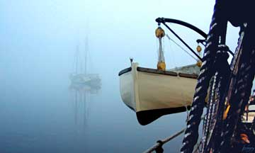 Anchored in Fog
